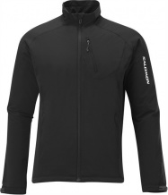 bunda Salomon Nova III Softshell M black 11/12