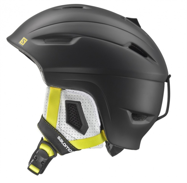 lyž.helma Salomon Ranger black matt/yellow 13/14