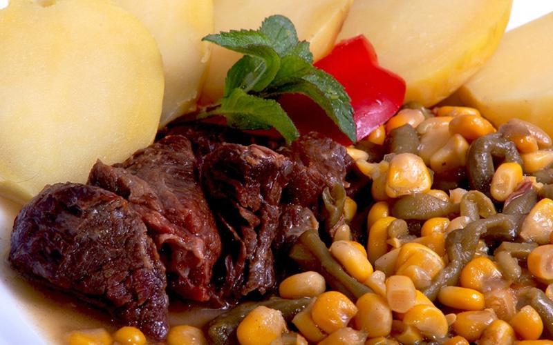 Expres menu Hovězí se zeleninou 1 porce