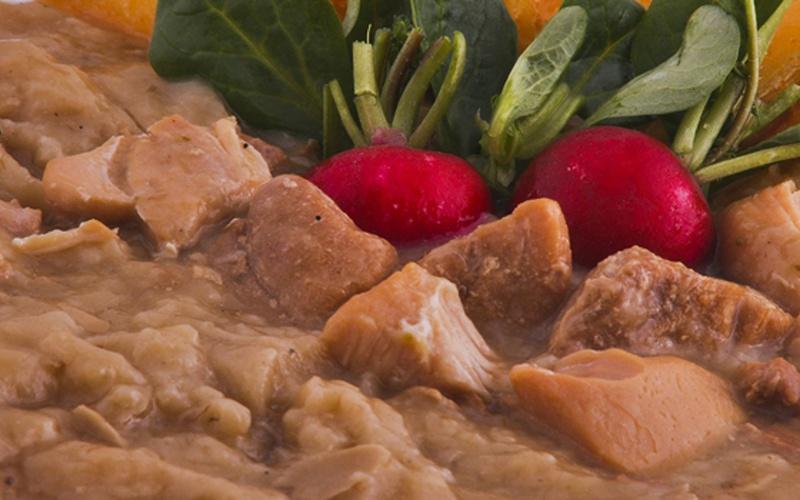 Expres menu Kuře s mandl a rozin 1 porce