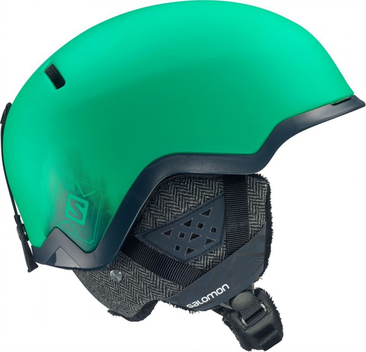 lyž.helma Salomon Hacker custom AIR green/blue L 14/15