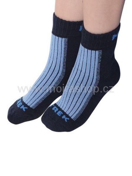 MOIRA ponožky TREK dětské modrá