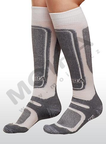 MOIRA ponožky SKI natur