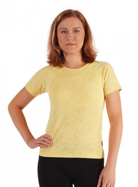 MOIRA SOFT dámské kr. rukáv DKR2 žlutá