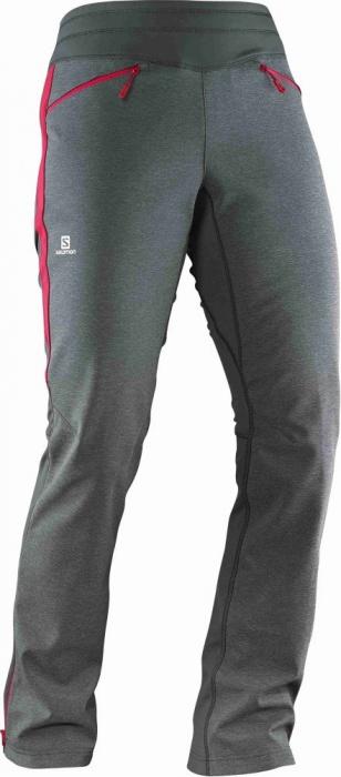 kalhoty Salomon Pulse softshell W galet grey/lotus pin