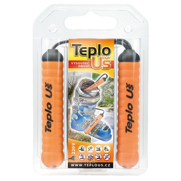 Vysoušeč obuvi Teplo Uš 230V oranžová