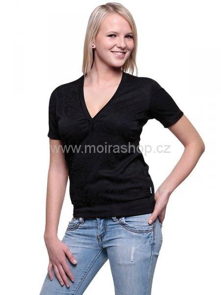 MOIRA SOFT dámské kr. rukáv DKR5 černá