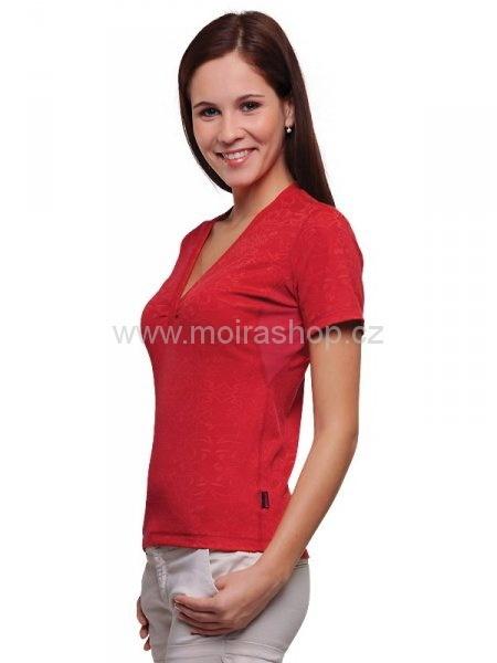 MOIRA SOFT dámské kr. rukáv DKR5 červená