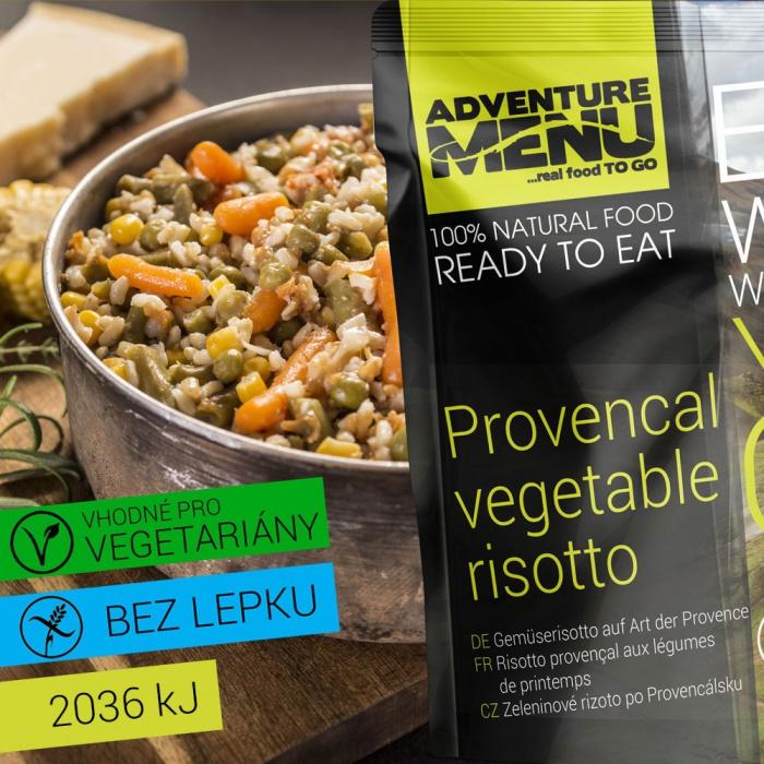 ADVENTURE MENU Zeleninové rizoto po Provensálsku