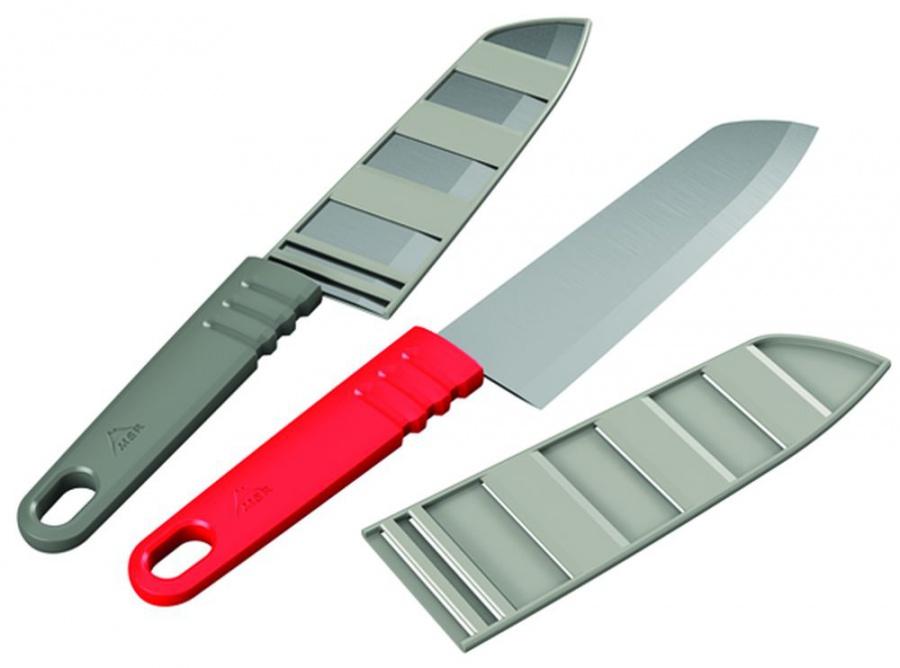 CASCADE DESIGNS Ltd. MSR ALPINE CHEF´S KNIFE Red nůž velký červený