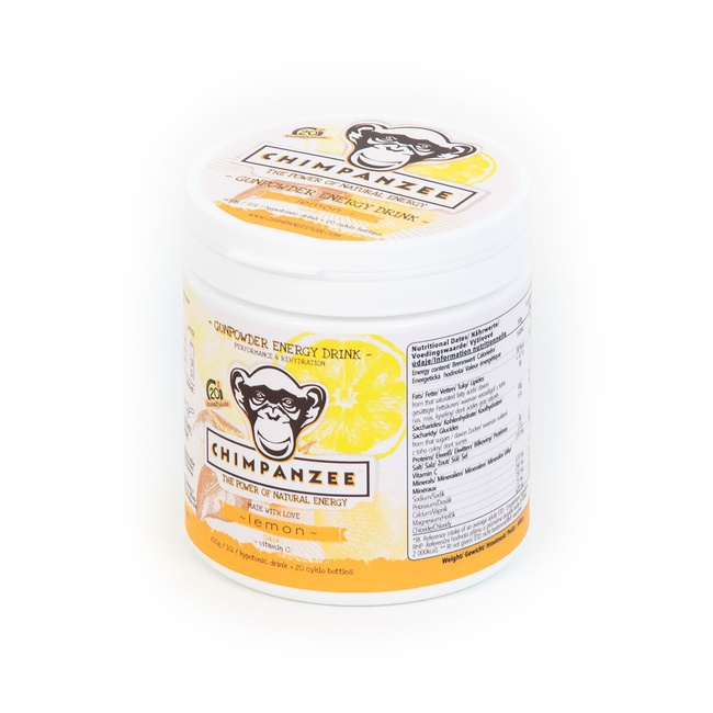 CHIMPANZEE Gunpowder ENERGY drink Lemon 600g