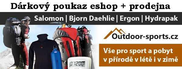 Dárkový poukaz 1000 Kč Outdoor-sports.cz