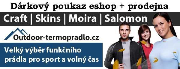 Dárkový poukaz 1000 Kč Outdoor-termopradlo.cz